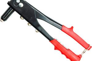 Ручной заклепочник: выбор и использование инструмента