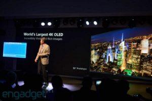 #CES | Sony анонсировала первый в мире 4K OLED-телевизор