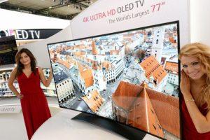 LG представила самый большой изогнутый 4K OLED TV в мире