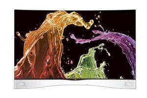 В США стартуют продажи телевизоров LG с изогнутым экраном