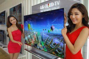 В продажу поступает ультратонкий 55-дюймовый OLED-телевизор LG