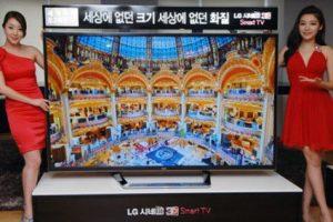 LG представила 84-дюймовый телевизор 84LM9600 ультравысокого разрешения