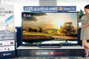 LG открыла предзаказы на 84-дюймовую UHD-панель