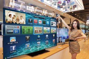Samsung начинает продажи 75-дюймового OLED SMART TV ES9000