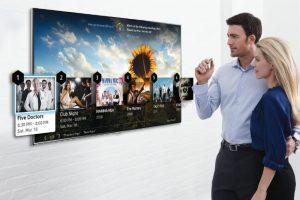 Samsung позволил управлять своими телевизорами движением пальца