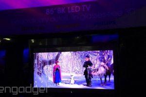 #CES | Sharp показала телевизор с разрешением 8K и технологией пассивного 3D