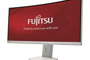 Fujitsu Display B34-9 UE: изогнутый монитор формата UWQHD»