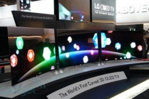 #CES | LG показала первый в мире изогнутый Cinema 3D OLED-телевизор