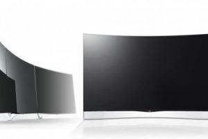 Начались продажи первых в мире OLED-телевизоров с изогнутым экраном