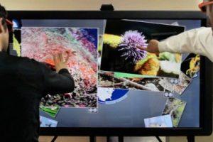 Ideum представила 65-дюймовый мультитач 3D-дисплей