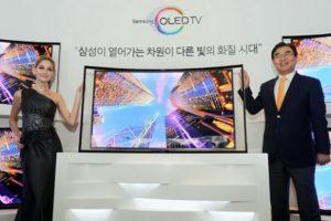 Samsung начала продажу изогнутых OLED-телевизоров