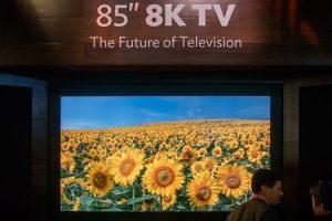Телевизор-мечта: 85-дюймовый Sharp с разрешением 8К