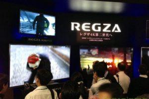 CEATEC 2012: Toshiba показала возможности 4K REGZA HDTV
