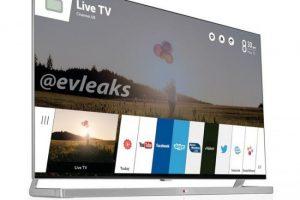 В Сети засветилась фотография телевизора LG с операционной системой webOS